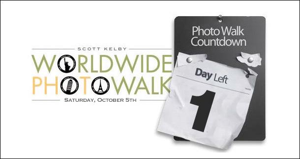 Scott Kelby's World Wide PhotoWalk is Tomorrow!