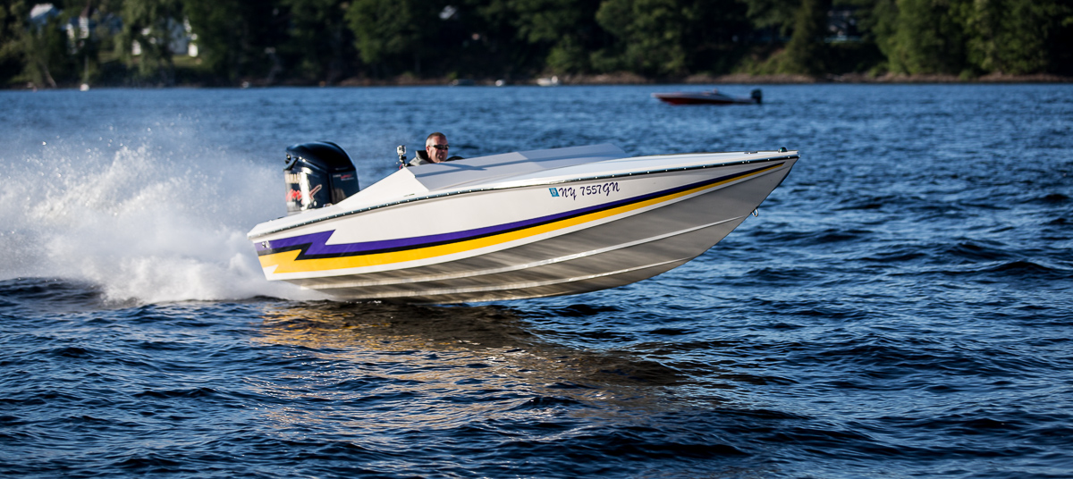 Shooting Go Fast Boats